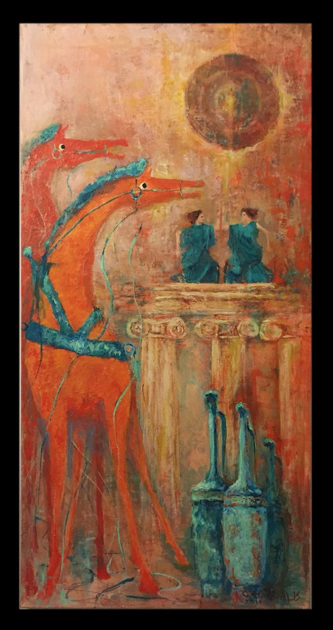 Αρχαίες χορεύτριες
