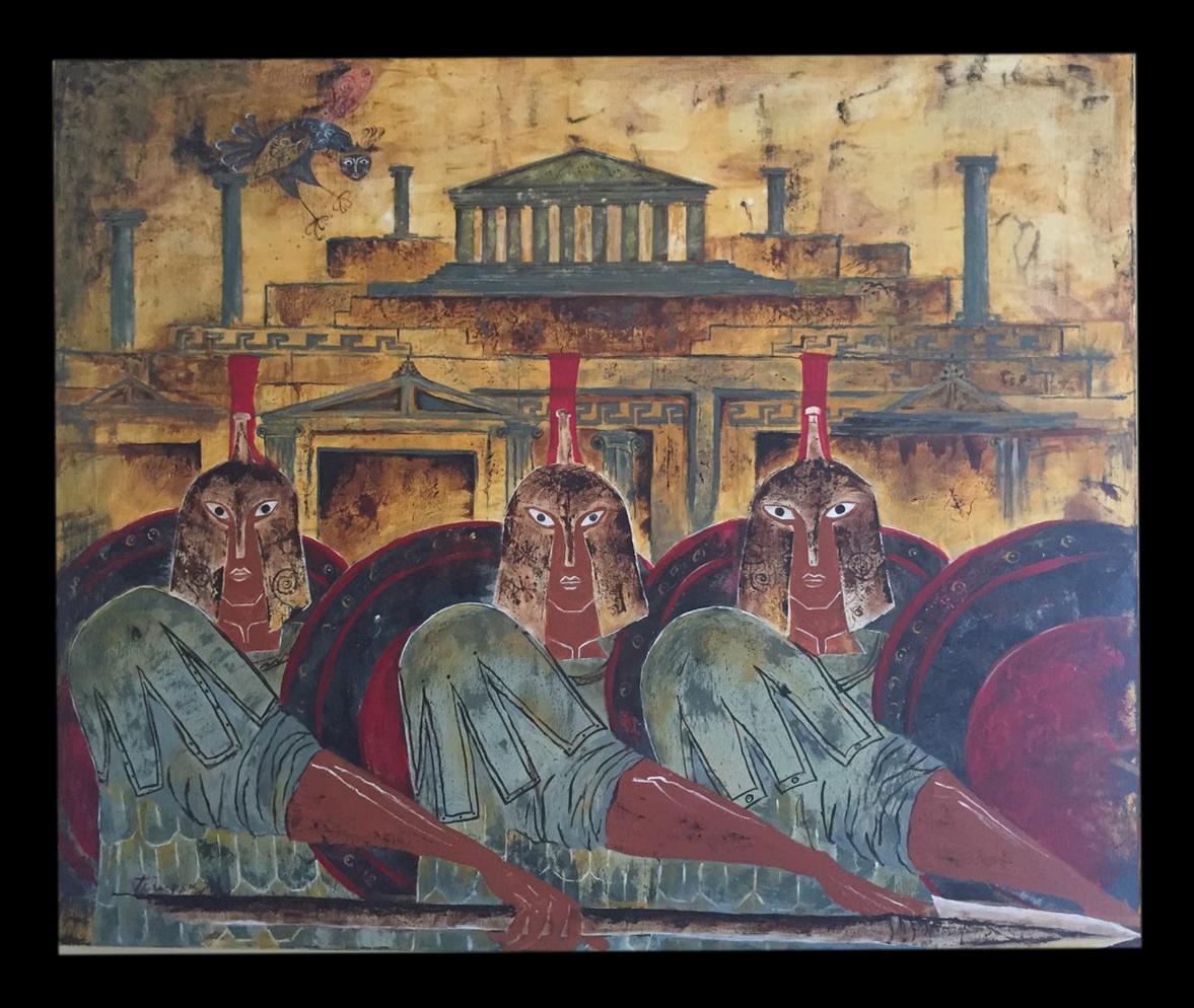 Πολεμιστές με Ακρόπολη