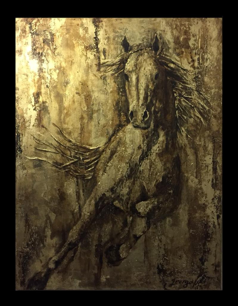 Άλογο Ορείχαλκος